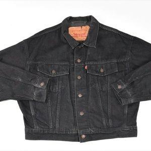 Levis Mens Hand Painted Denim Jacket Wynonna